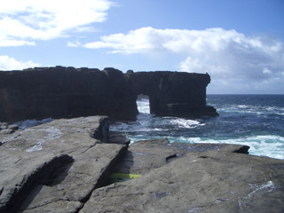 Northern coast of westray
